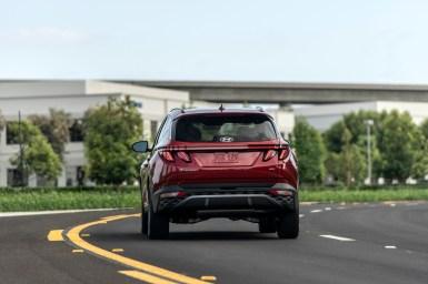 Hyundai Tucson 2022 exterior