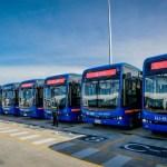 Buses eléctricos de BYD