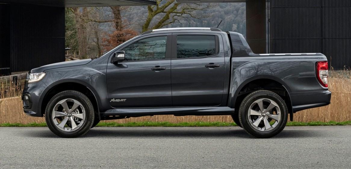 Ford Ranger MS-RT: una variante exclusiva para Europa