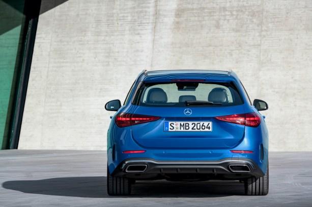 Mercedes-Benz Clase C 2022 wagon exterior