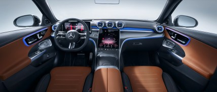 Mercedes-Benz Clase C 2022 interior
