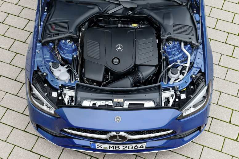 Mercedes-Benz Clase C 2022 motor