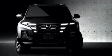 Hyundai Santa Cruz teaser