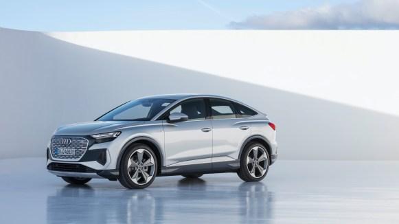 Audi Q4 e-tron Sportback 2022 exterior