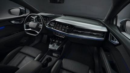 Audi Q4 e-tron 2022 interior