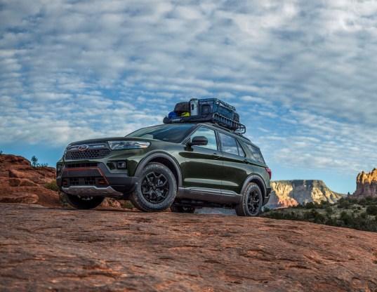 Ford Explorer Timberline 2021 exterior