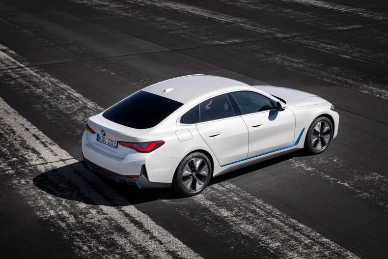 BMW i4 exterior
