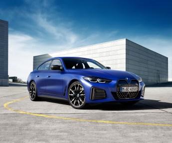 BMW i4 M50 exterior