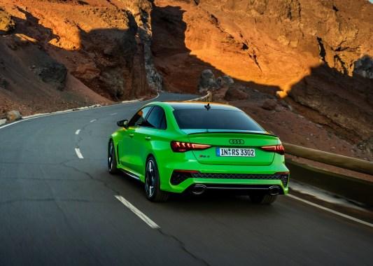 Audi RS3 2022 Sedán exterior