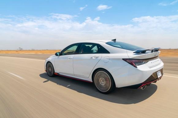 Hyundai Elantra N 2022 exterior