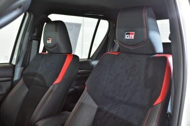 Toyota Hilux GR-Sport 2022 interior