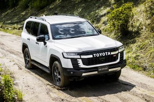 Toyota Land Cruiser 300 GR-Sport: Así es la nueva versión deportiva