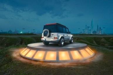 Mercedes-Benz Concept EQG exterior