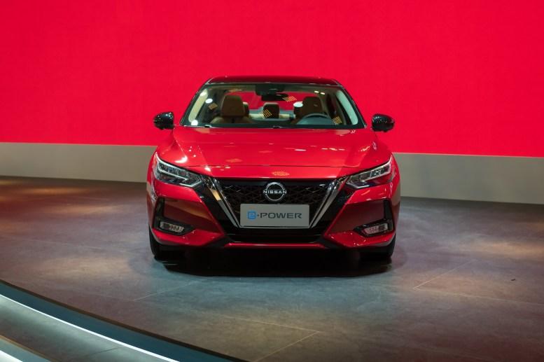 Nissan Sylphy e-Power 2022: exterior