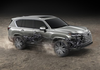 Lexus LX600 2022: Exterior