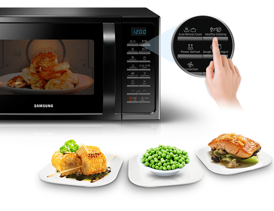 samsung 28 l convection type microwave oven mc28h5023ak