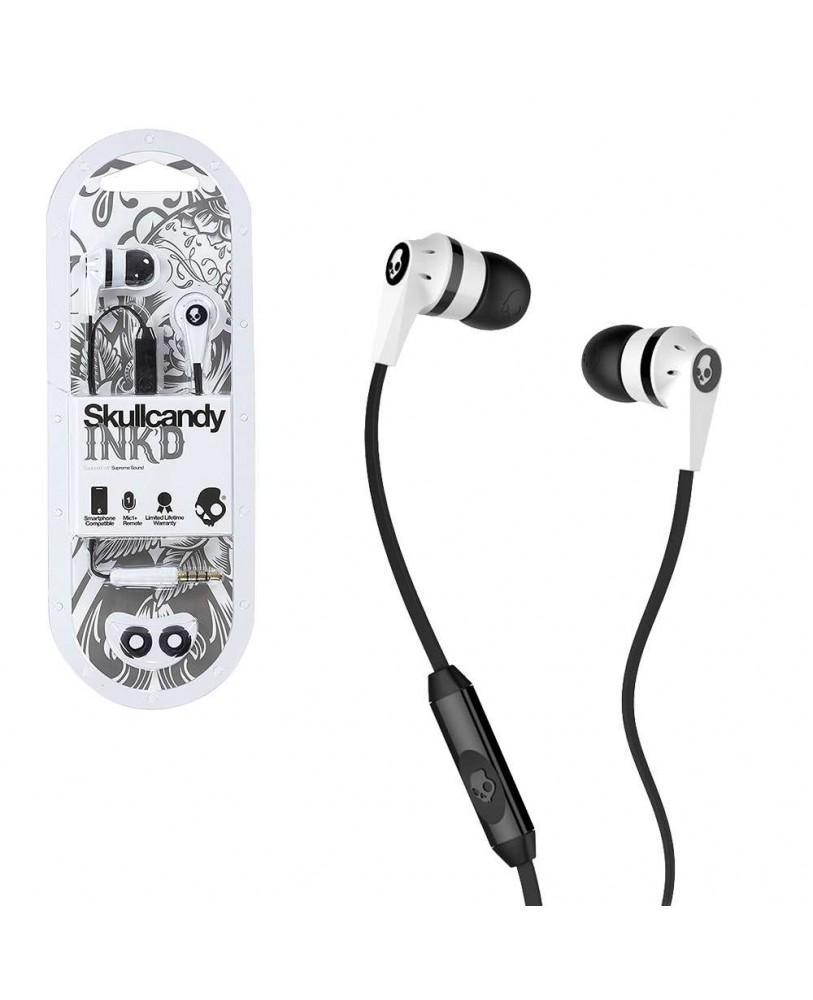 hight resolution of skullcandy inkd s2ikdy 010 in ear earphones with mic color may vary