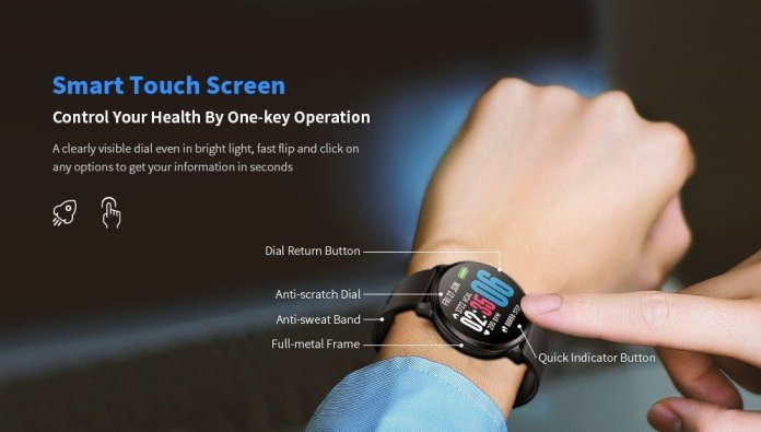 Bilikay V11 Waterproof Sports Smart Watch for Android / iOS
