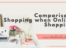 Comparison Shopping when Online Shopping