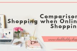 Comparison Shopping when Online Shopping