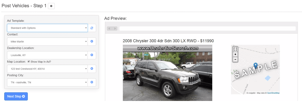 craigslist for car dealers
