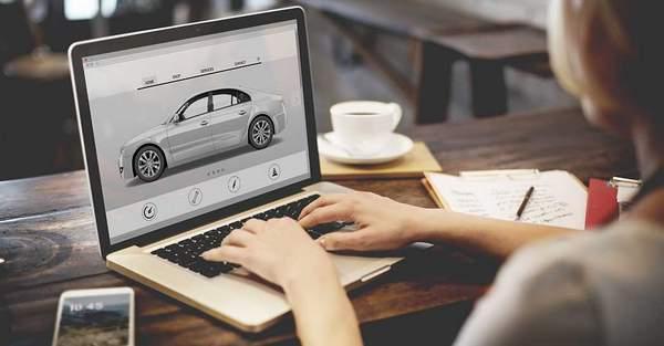 la vente au détail numérique automobile