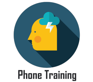 phone training auto sales