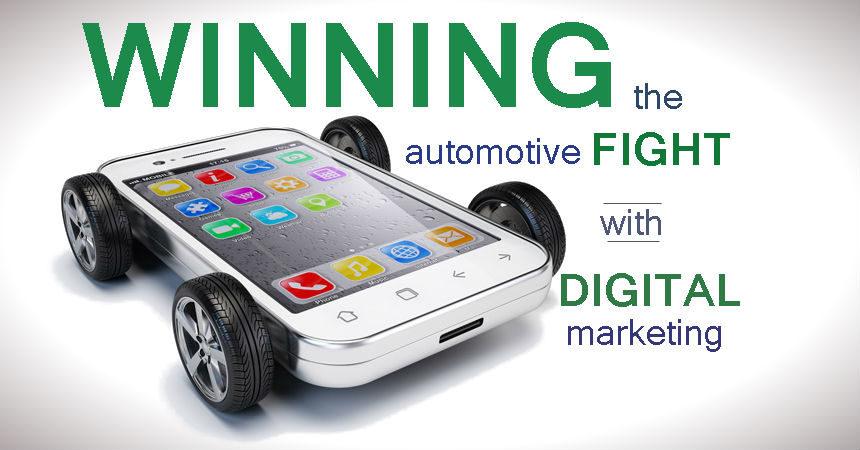 Winning the Automotive Fight with Digital Marketing webinar