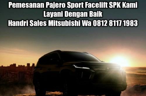 Promo Kredit DP Murah Pajero Sport