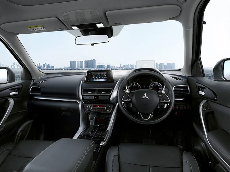 luxury black interior