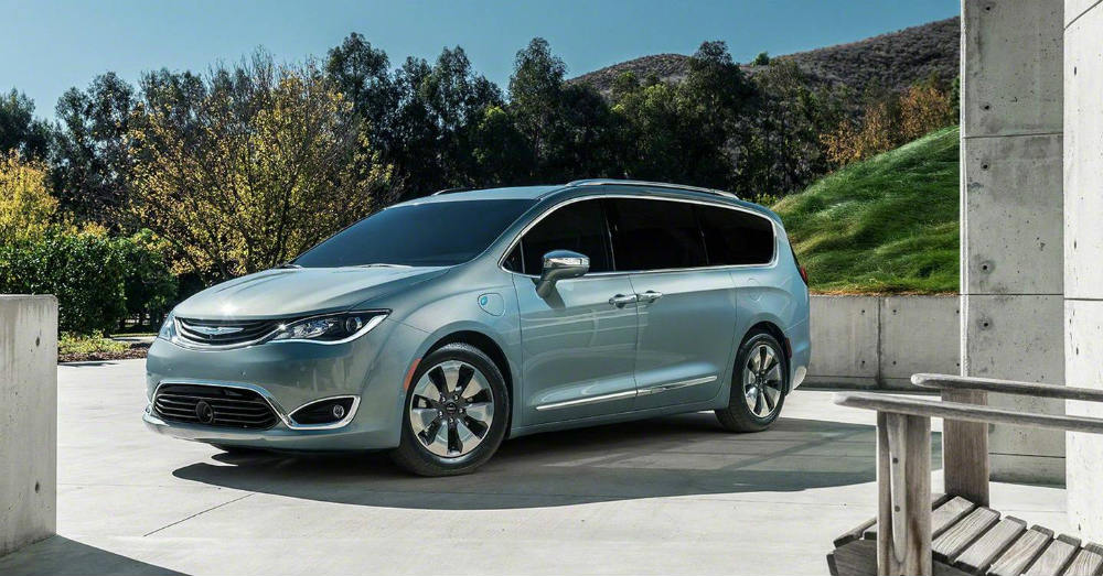 A More Dramatic Look to the Chrysler Pacifica Hybrid