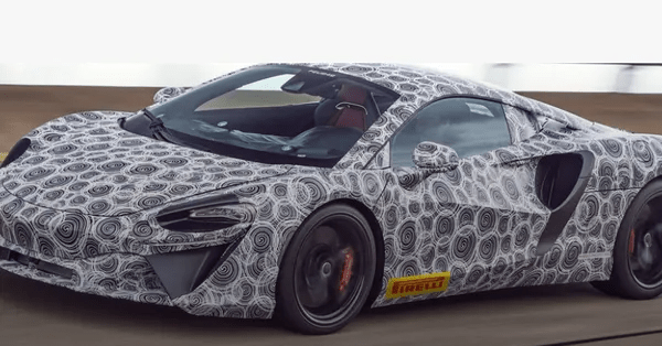 Dream Car Series: A New Supercar From McLaren is on the Way