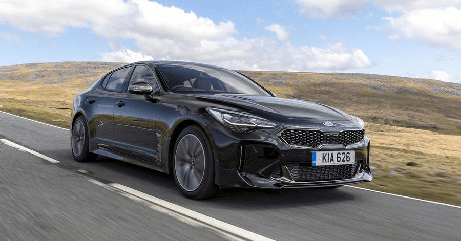 The Kia Stinger has a Diesel Engine?