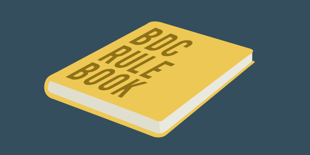 BDC Rule Book - What Counts As A Valid Appointment
