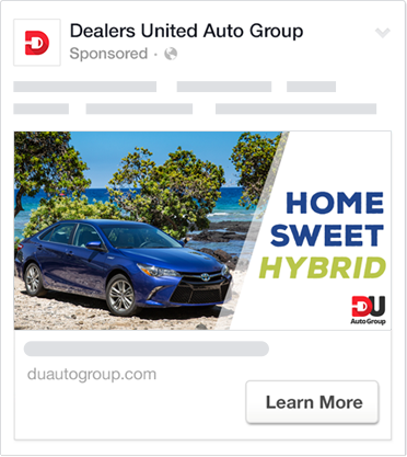facebook advertising for automotive