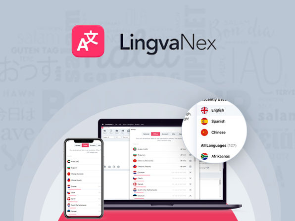 81% off | Lingvanex All-in-One Translation Suite