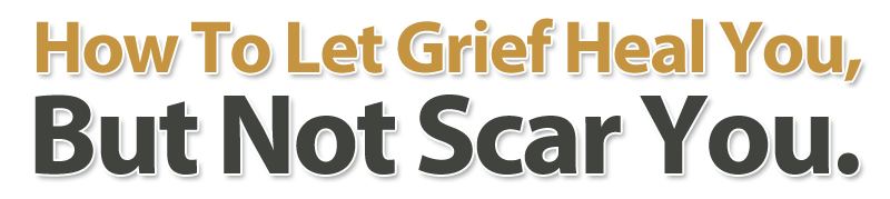Dealing With Grief  Image of headline