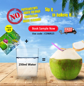 cocunut drinking water Re 1 only