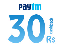 paytm Rs 30 cashback on Rs 60