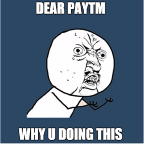 paytm needs an OTP to login