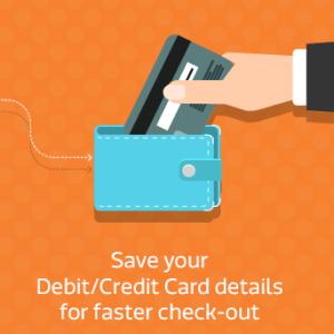 flipkart big billion day build save your credit card details