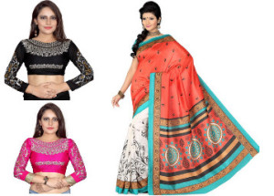 Snapdeal Loot - Buy Women's Ethnic Wears at minimum 80% off starting at just Rs.199 only