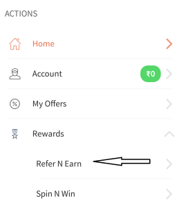 freecharge refer and earn Rs 25