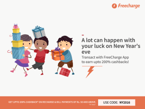 Freecharge Loot Offers Of 2016