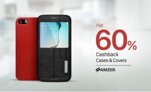 Paytm Electronics Add on Sale – Buy Mobile Covers & Cases at flat 60% cashback