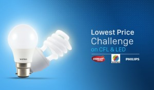 (Loot deals added) Paytm- Grab CFL and LED lights at lowest Price Challenge