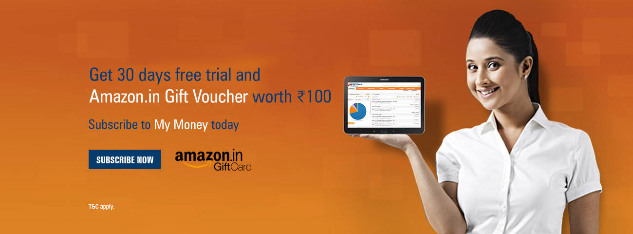 ICICI Amazon offer- Subscribe to My Money 30 Days Subscription and get Amazon voucher worth Rs 100