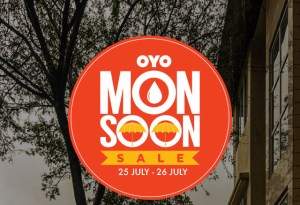 Oyo Monsoon Sale- Book Hotels at flat 50% off