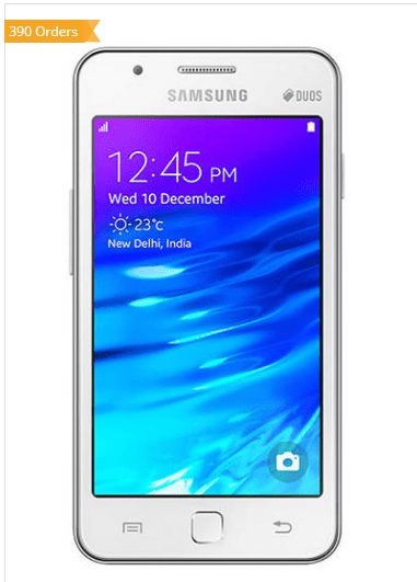 Paytm - Buy Samsung Galaxy Z1 (White) at Rs 3511 Only