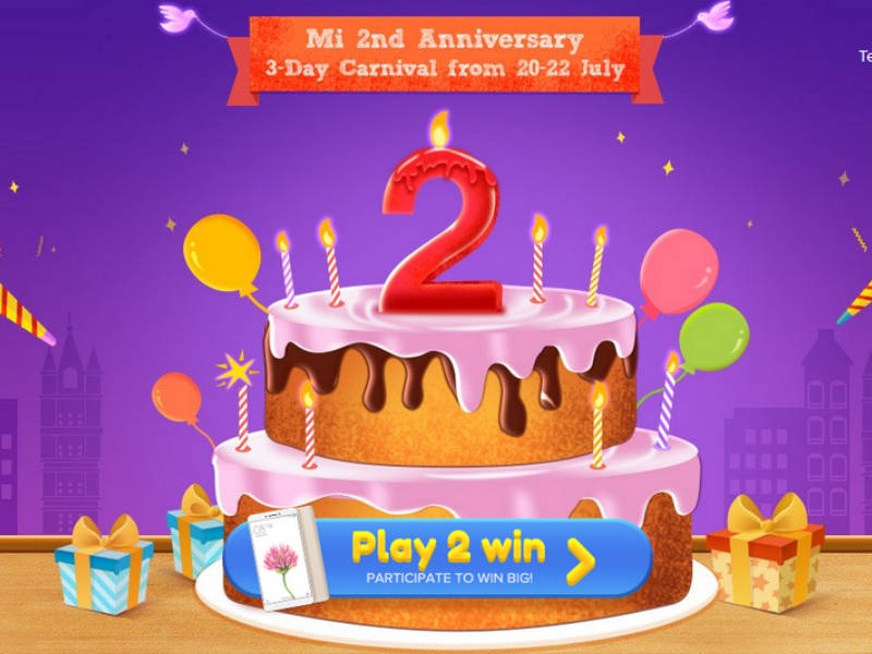 Mi 2nd Anniversary Sale